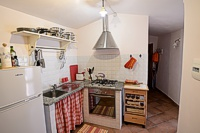 Roof Terrace Kitchen - apartment to rent in Bosa